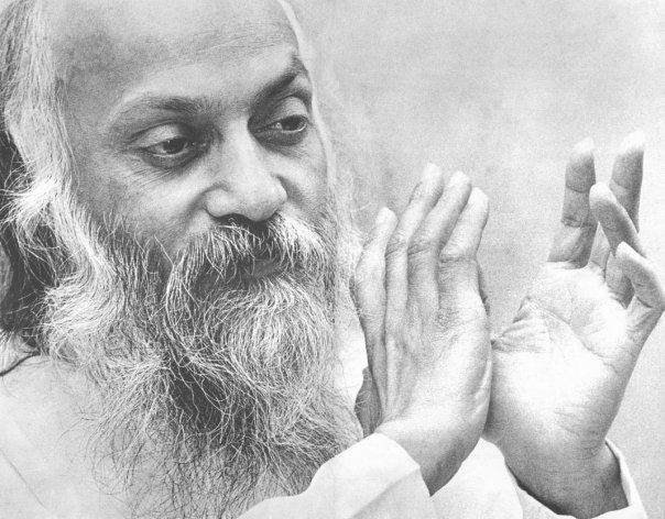 Osho in darshan