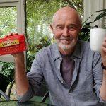 Subhuti drinking English Breakfast Tea