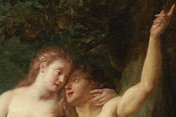 Adam and Eve, painting by Jean François de Troy 1718