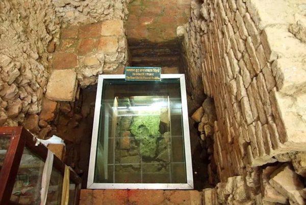 The Marker stone, Buddha's birth place
