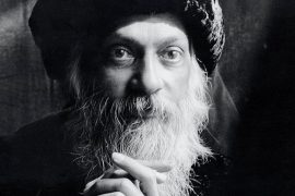 portrait of Osho