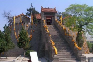 LaoJun Tai Temple, China
