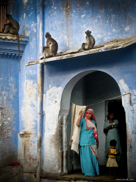 The vestals of Pushkar