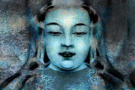 Blue Buddha by Padma