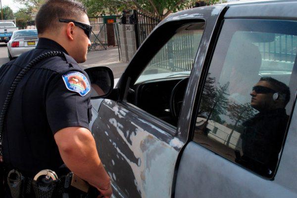 Police and Minivan