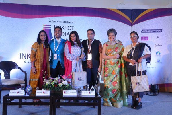 From left: Benu Malhotra, Ayush Periwal, Shazia Ilmi, Sharif Rangnekar, Ratan Kaul, Raga Olga D'silva