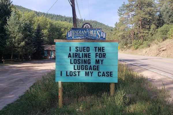 I sued the airline