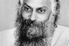 Osho in darshan, 1976