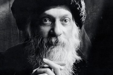 Osho with Afghan hat