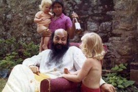 Osho with children