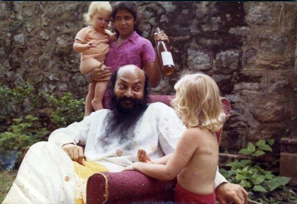 Osho with children
