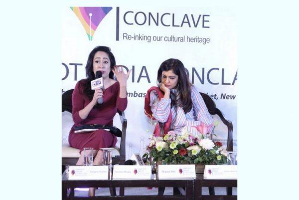 Nandini Bhalla and Shazia Ilmi
