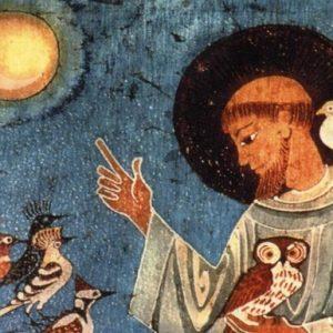 St. Francis dies singing