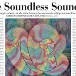 The Soundless Sound, article in The Speaking Tree