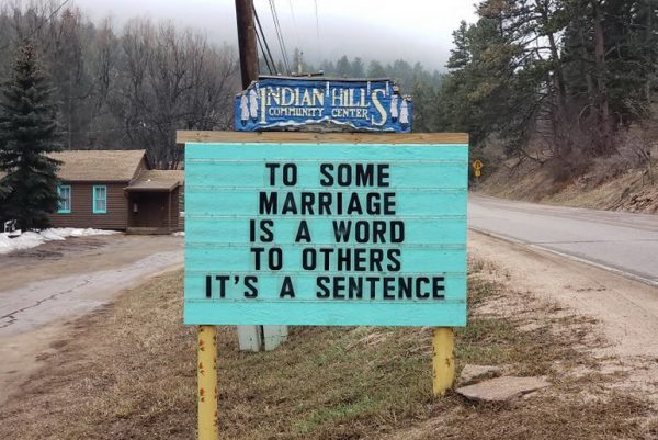 To some marriage