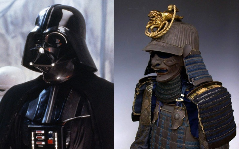 Darth Vader and Samurai armour
