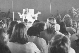 Lecture by Osho in Buddha Hall