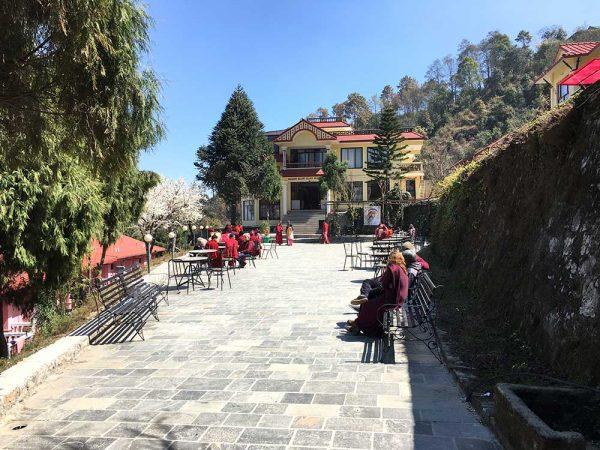 The venue in Nagarkot, Nepal
