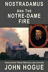 Book cover Nostradamus and the Notre-Dame Fire