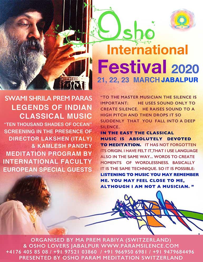 Osho International Festival 2020