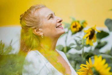 Sarita in Sunflowers