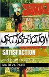 Book cover, Satisfaction and how to get it...
