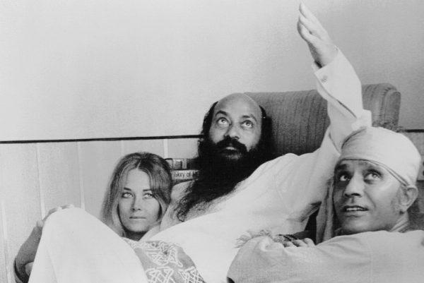 Osho with Veena and Shyam 1972