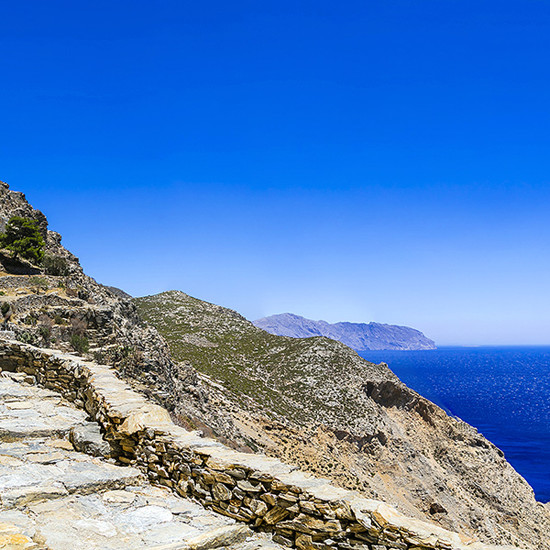 Amorgos path