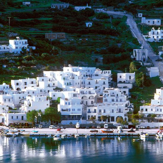 On Amorgos island