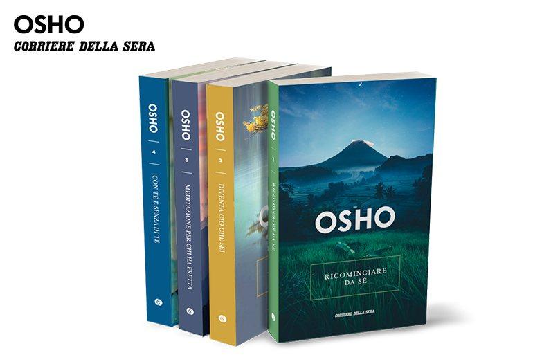Corriere della Sera collezione di Osho