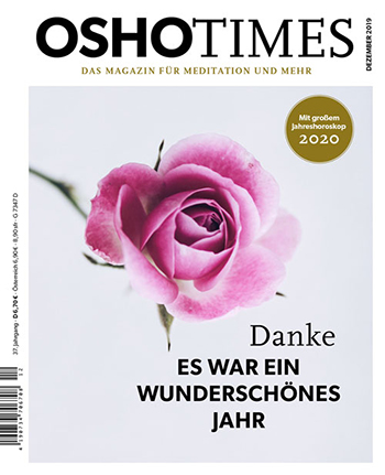 cover of German Osho Times issue qw, 2019