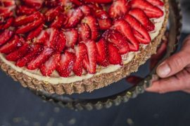 strawberry cheescake