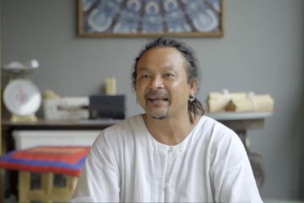 Former Thai monk, Pom
