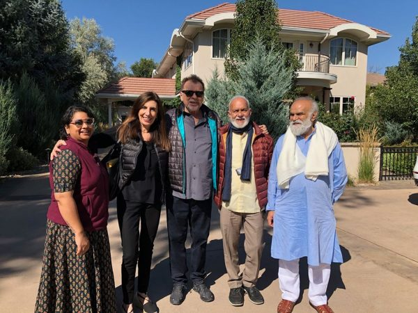 During our years in India we always felt very welcome by the soul and spirit of our Indian friends and felt lucky to re-unite here in Boulder.