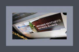 Bus advertisement