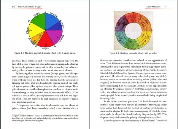 Light Therapies by Anadi Martel, p. 170-171