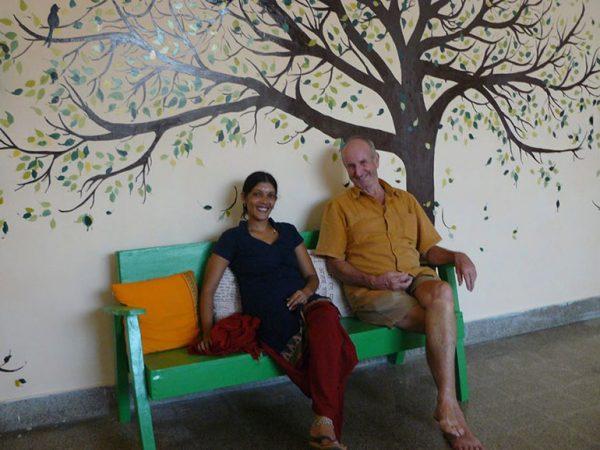 Murari-on-bench