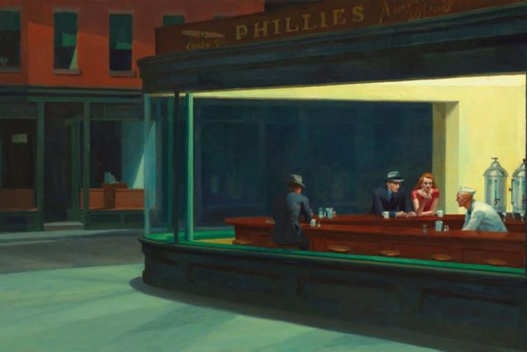 Phyllis Corner by Hopper
