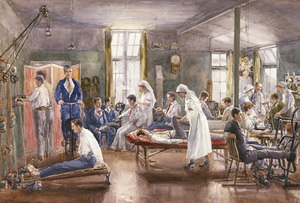 WW 1 healing therapies