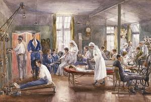 WW 1 healing therapies
