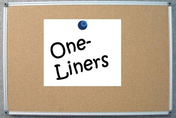 one-liners sign