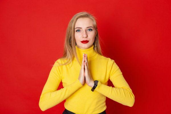 Namaste greeting