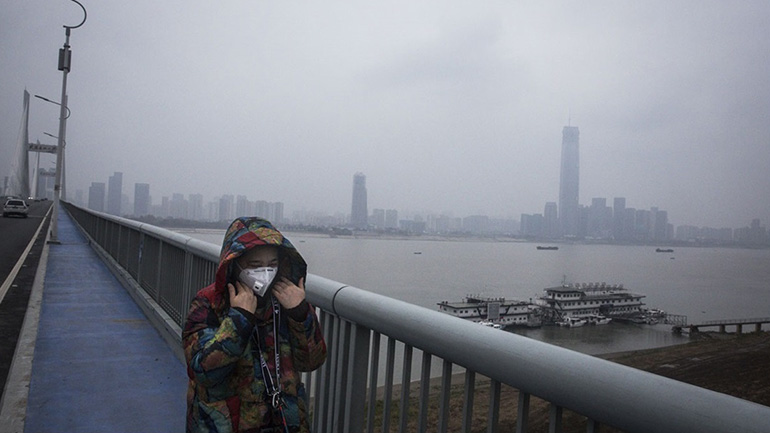 Pollution in Wuhan