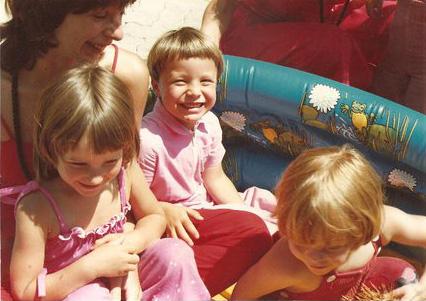 Anugraha with kids