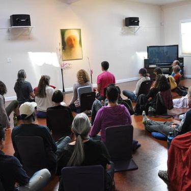 Meditating at Osho Leela, Boulder CO