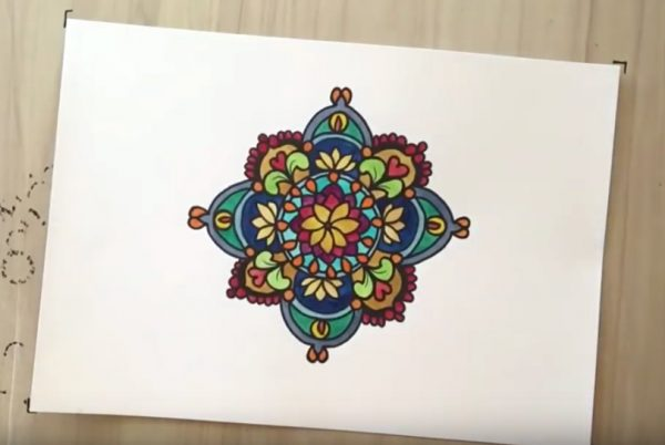 Shivananda's mandala video