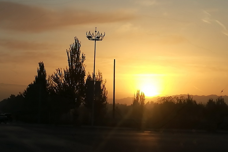 Dunhuang Sunrise