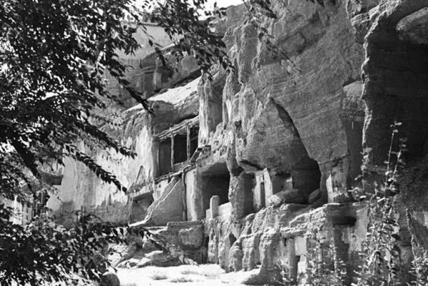 Ruins of Caves over 100 years ago