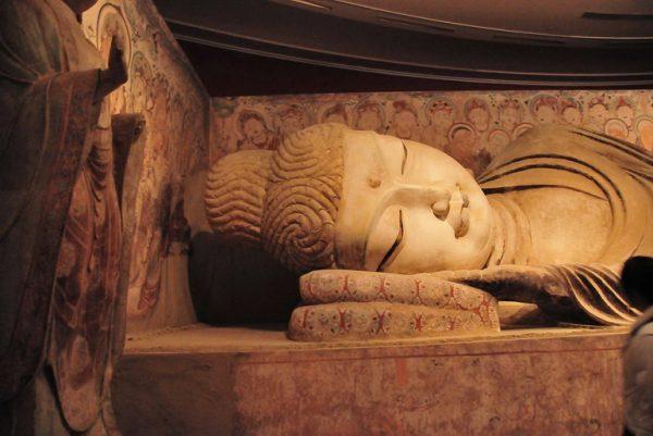 Head of Reclining Buddha