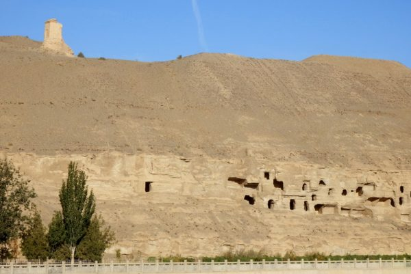 Abandoned Caves on hillside